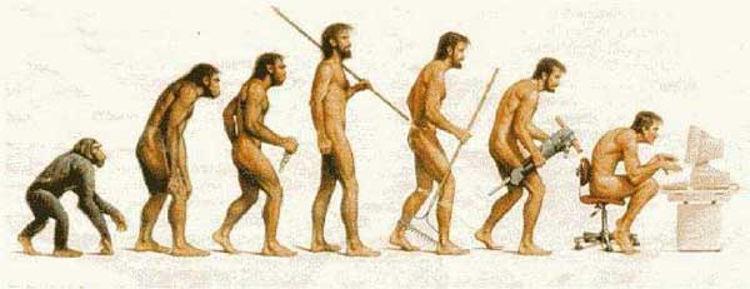 l'immagine rappresenta l'evoluzione di questo sito web