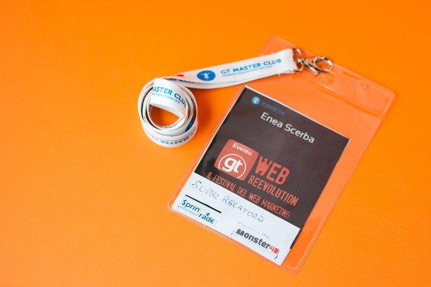 Webreevolution - Il mio badge da super relatore :-)