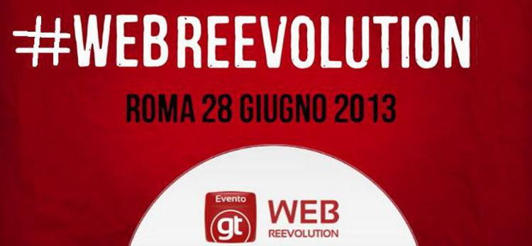 Webreevolution - immagine della locandina di facebook