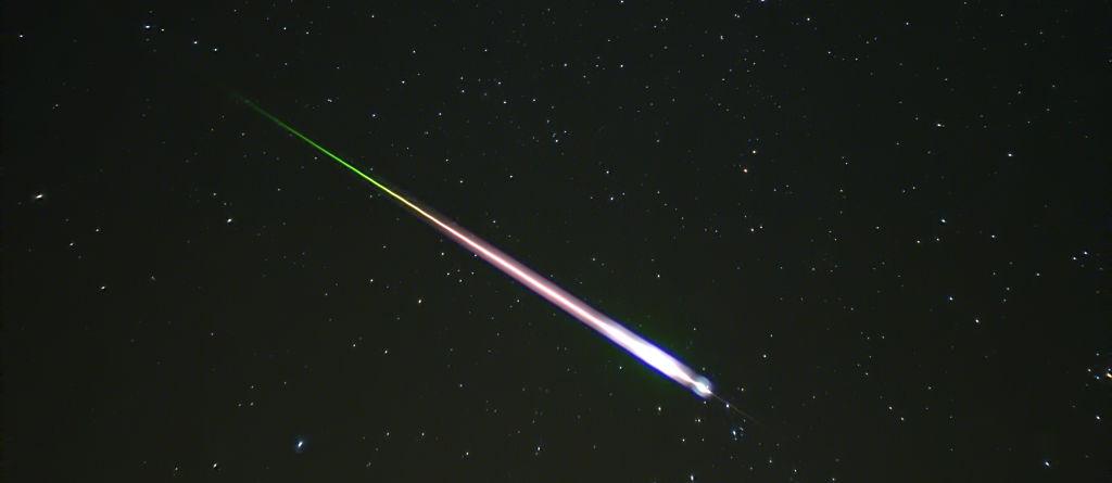 Meteorite presa da http://en.wikipedia.org/wiki/File:Leonid_Meteor.jpg