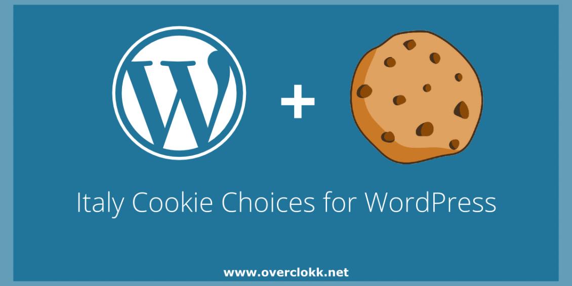 Immagine per l'articolo sul plugin per WordPress per aggiungere un banner per la legge sui cookie